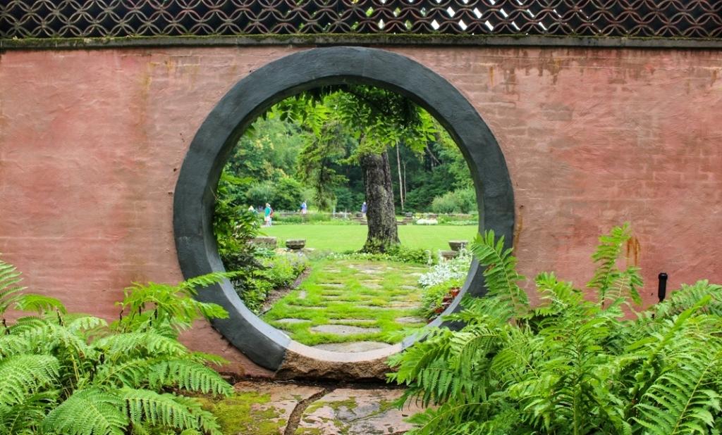 Abby Aldrich Rockefeller Garden, Seal Harbor, Maine